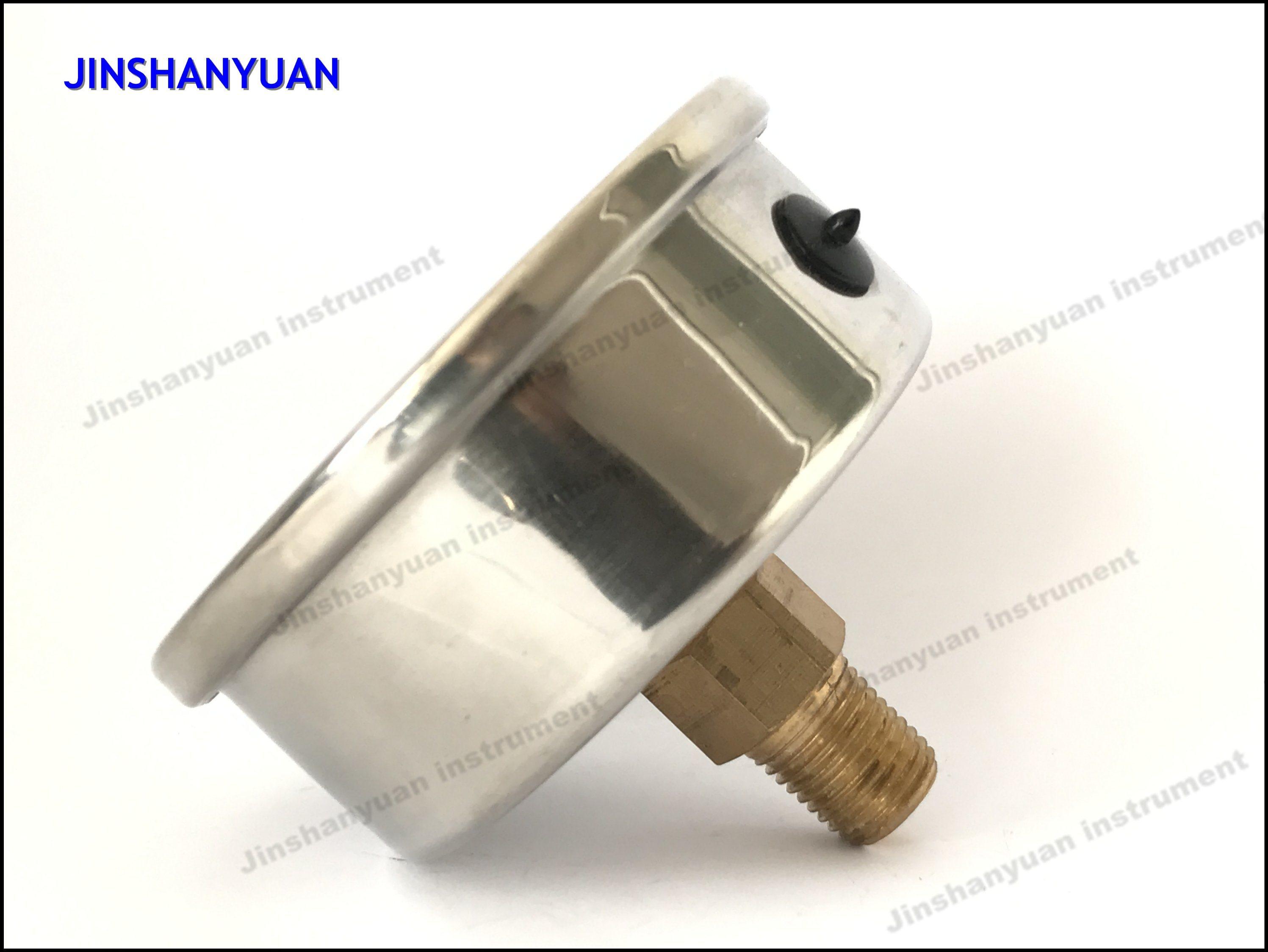 Og-018 Hydraulic Pressure Gauge/Axial Mount Pressure Gauge