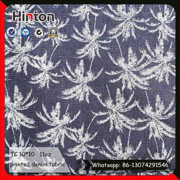 Popular Star Printed Jean Fabric for Children Dress