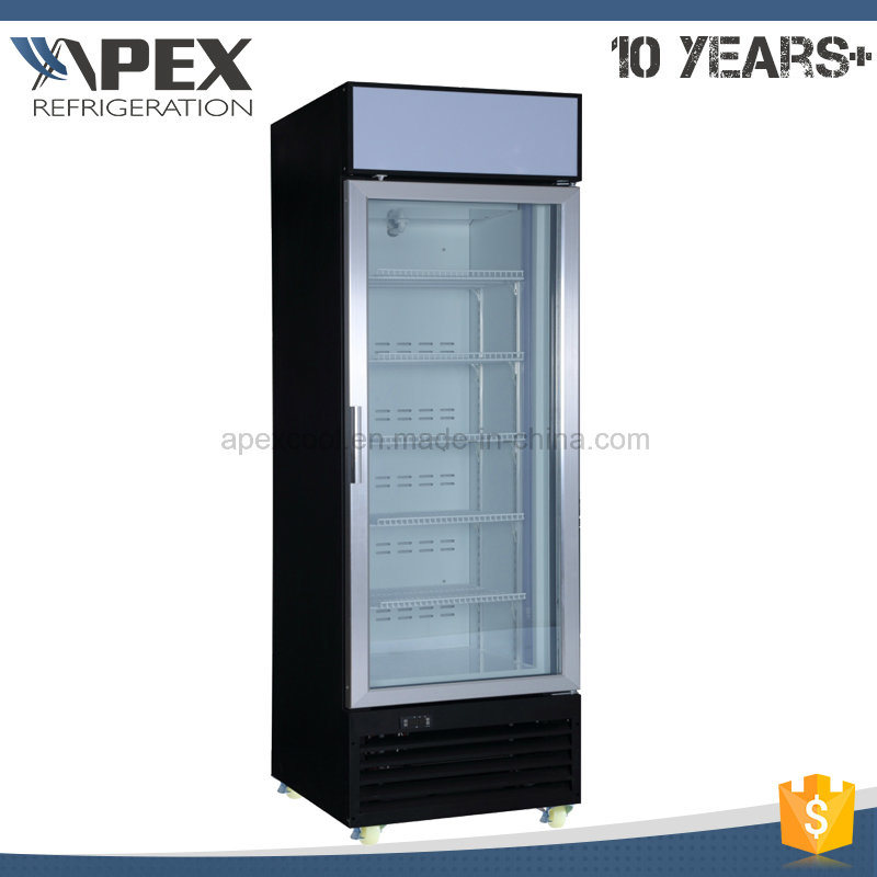 Single Door Upright Ice Creaml display Freezer