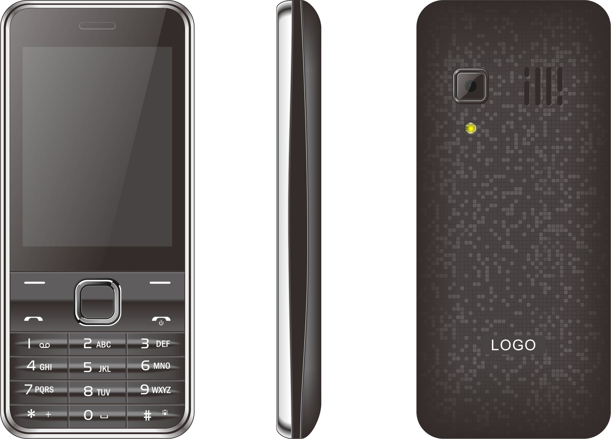 2017 Best Selling Smart GSM Feature Mobile Phone with Dual SIM for Elderly