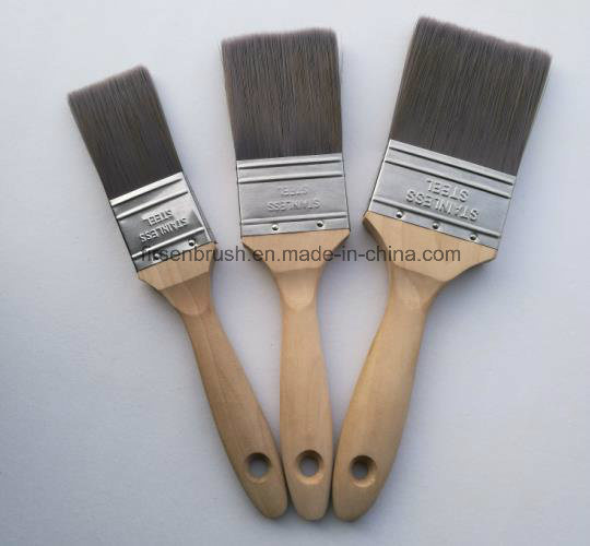 Different Sizes Tapered Nylon Synthetic Hair Paint Brush Set