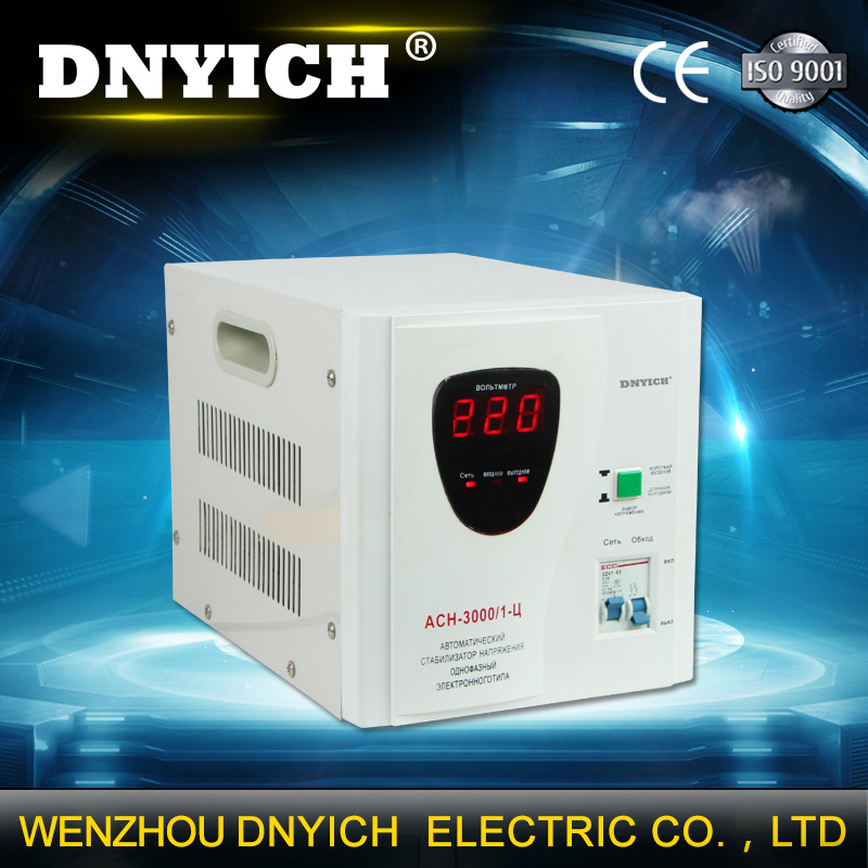 3000va Automatic Voltage Regulator/AC Stabilizer/AVR with Relay Type