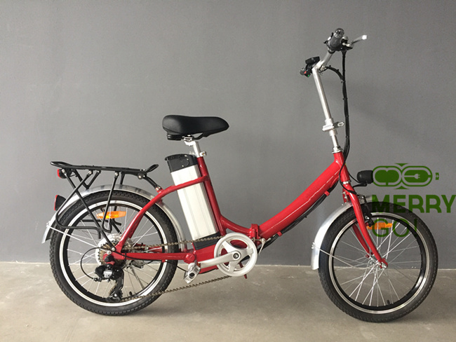Small Folding Ebike Lightweight Electric Bicycle