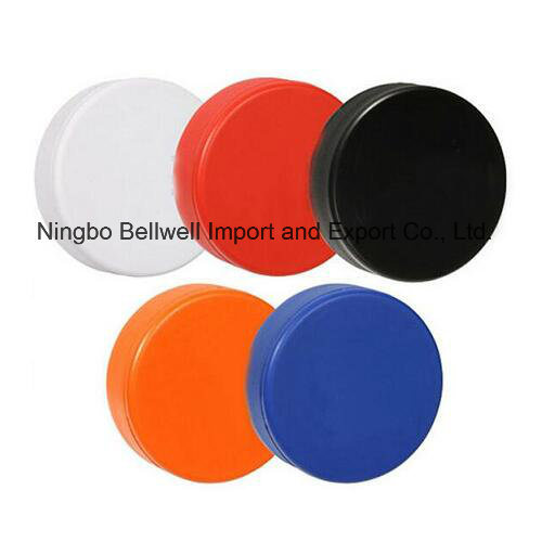 Colorful Rubber Hockey Puck Hockey Ball