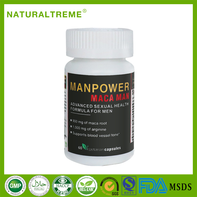 Herbal Lepidium Meyenii Walp Max Energy Boost Capsule