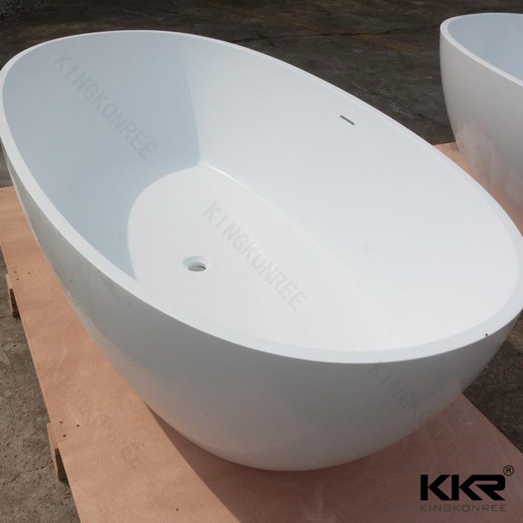 Sanitaryware Bathroom Accessories Solid Surface Freestanding Bathtub