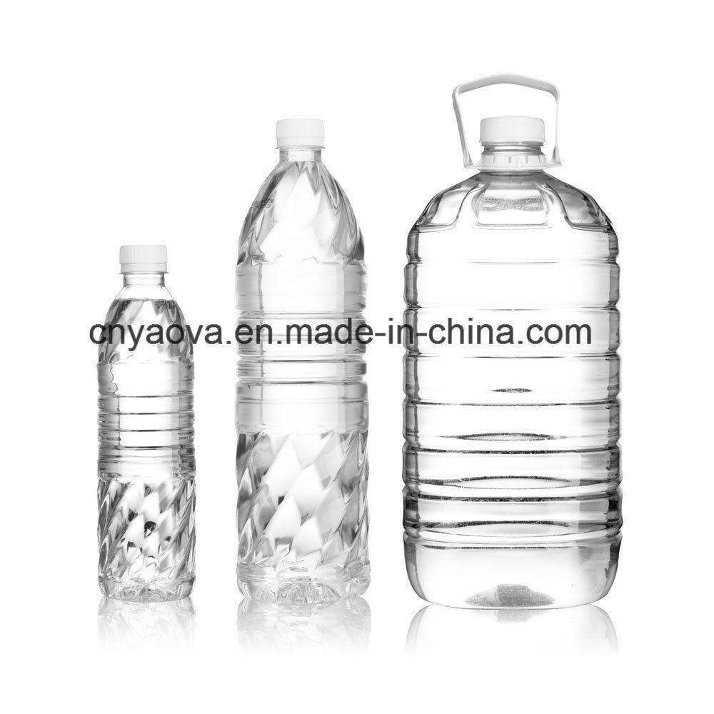300ml Hand Feed Preform Pet Water Bottle Blow Machinery