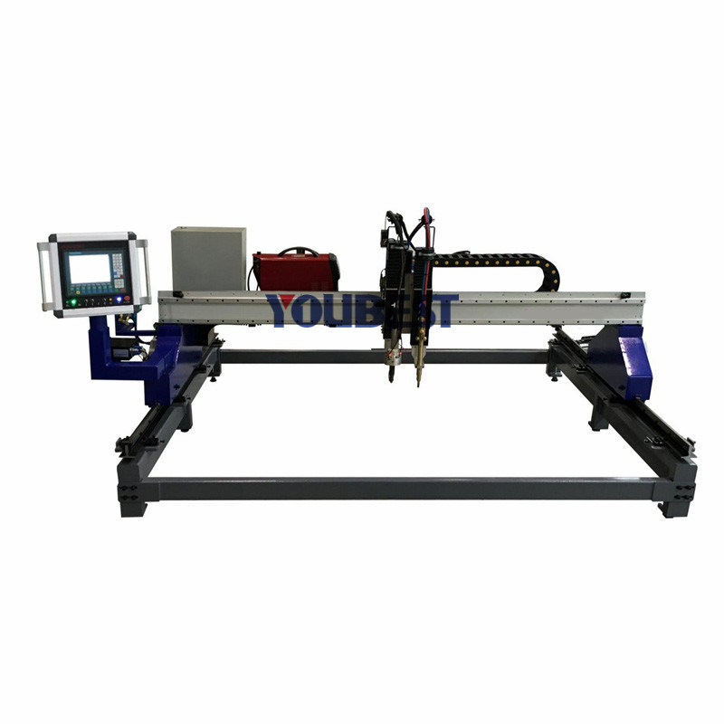 Steel Flame & Plasma CNC Cutting Machine