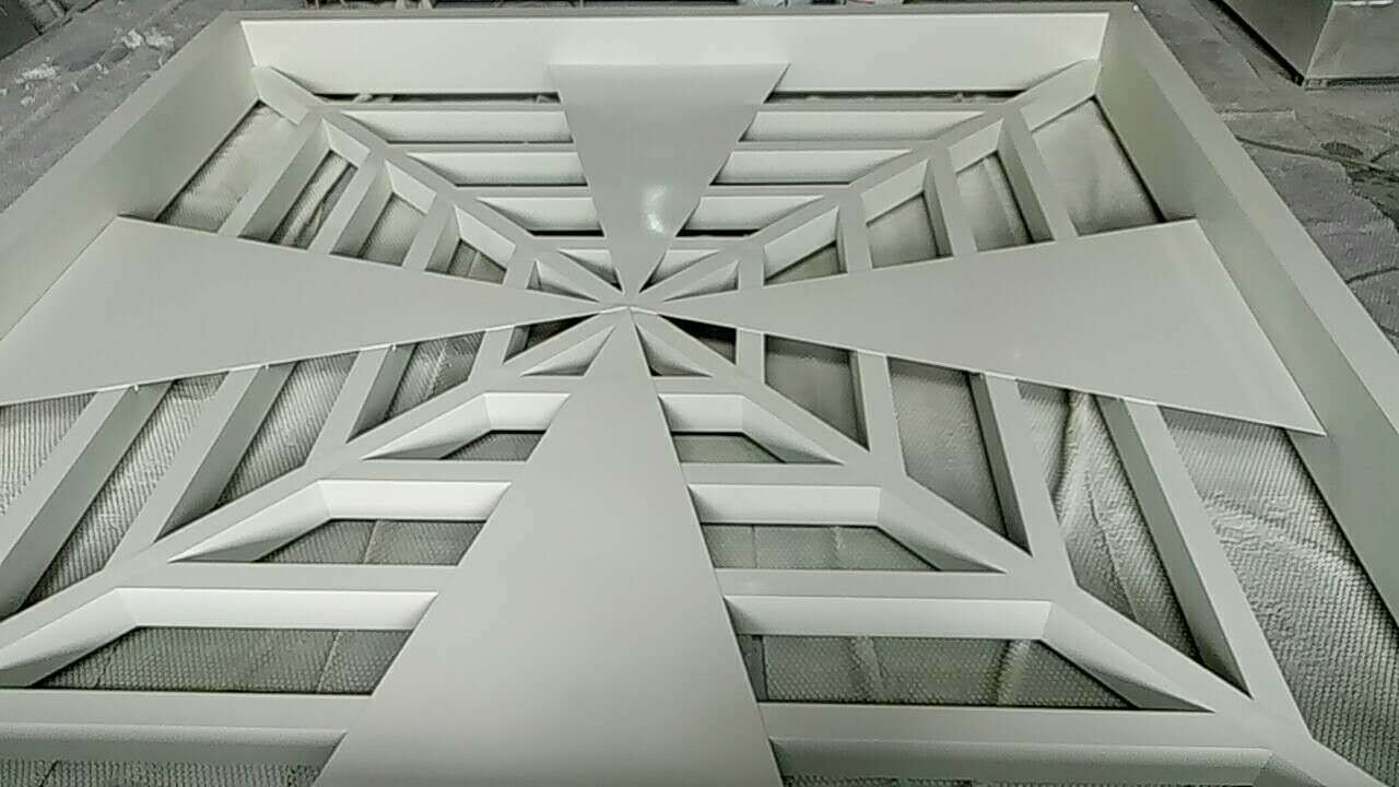 Silver Metallic Color Acm Building Material of Aluminum Cladding