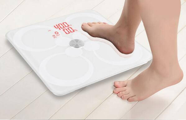 ITO Precision Bathroom Large Platform Large LCD Digital Body Scale