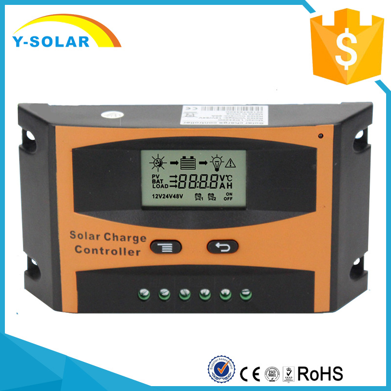 30A 12V/24V Solar PV Cell Charge Controller/Regulator Solar System Ld-30A