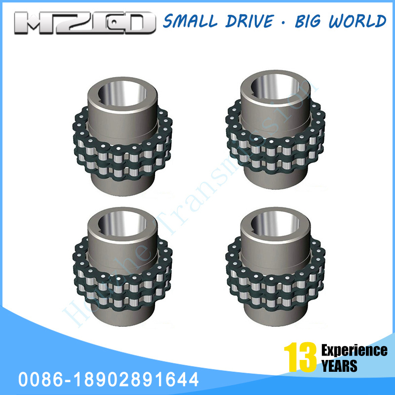 Hzcd Gl Roller Chain Universal Joint Cross Coupling