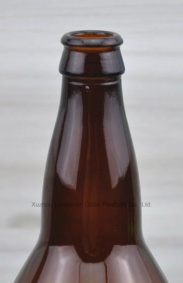 660ml Brown Glass Beer Bottles, Beverage Bottles
