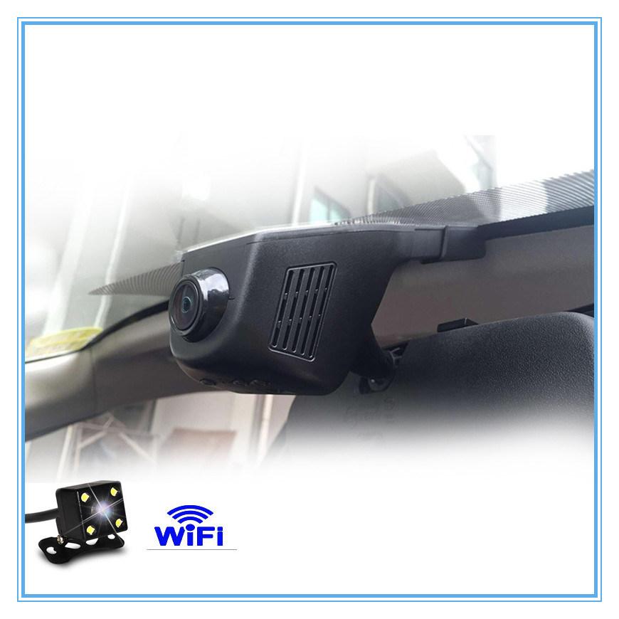 Full HD Dual Camera Lens Dashcam WiFi Car DVR