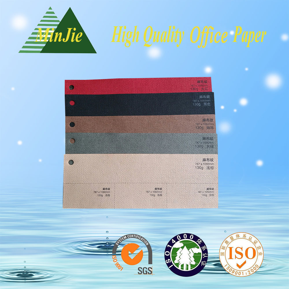 Color Embossed Packaging Paper for Notebook Cover