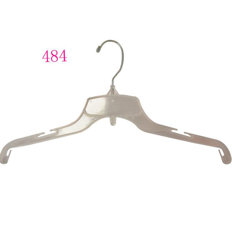 Plastic Non Slip Transparent Shirt Hanger