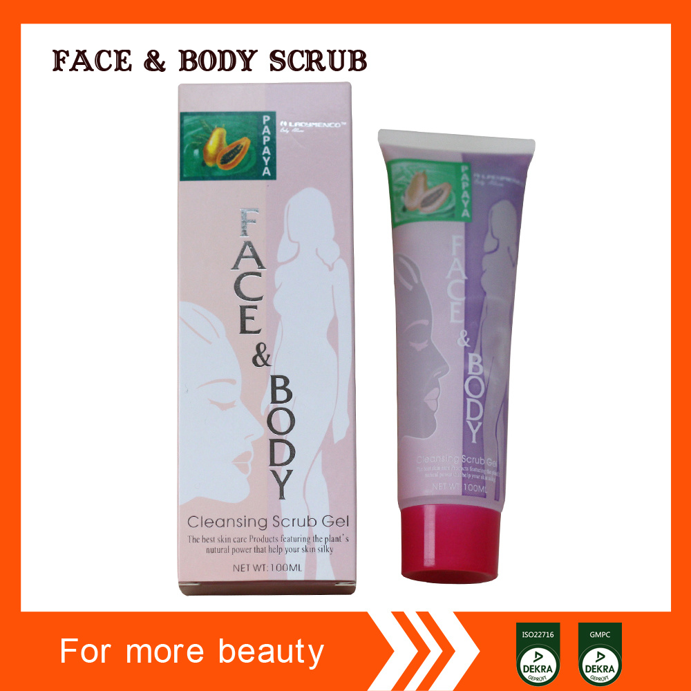 Hot Sell Middle East Face and Body Scrub Cleansing Gel
