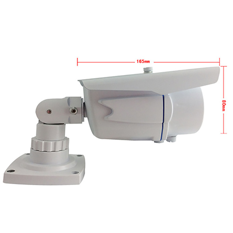 1080P High Resolution Motorized Zoom Infrared Bullet Security IP Underwater Camera
