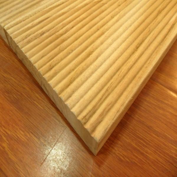 High Quality Unfinished Golden Teak Hardwood Outdoor Decking