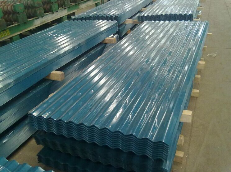 Corrugated Prepainted Steel Roofing Sheet