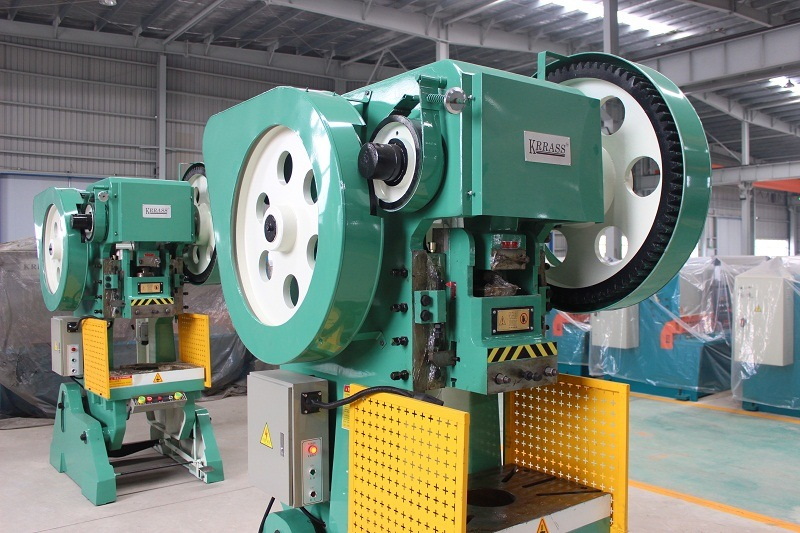 J23-63ton Automatic Aluminum Sheet Metal Stamping Machine