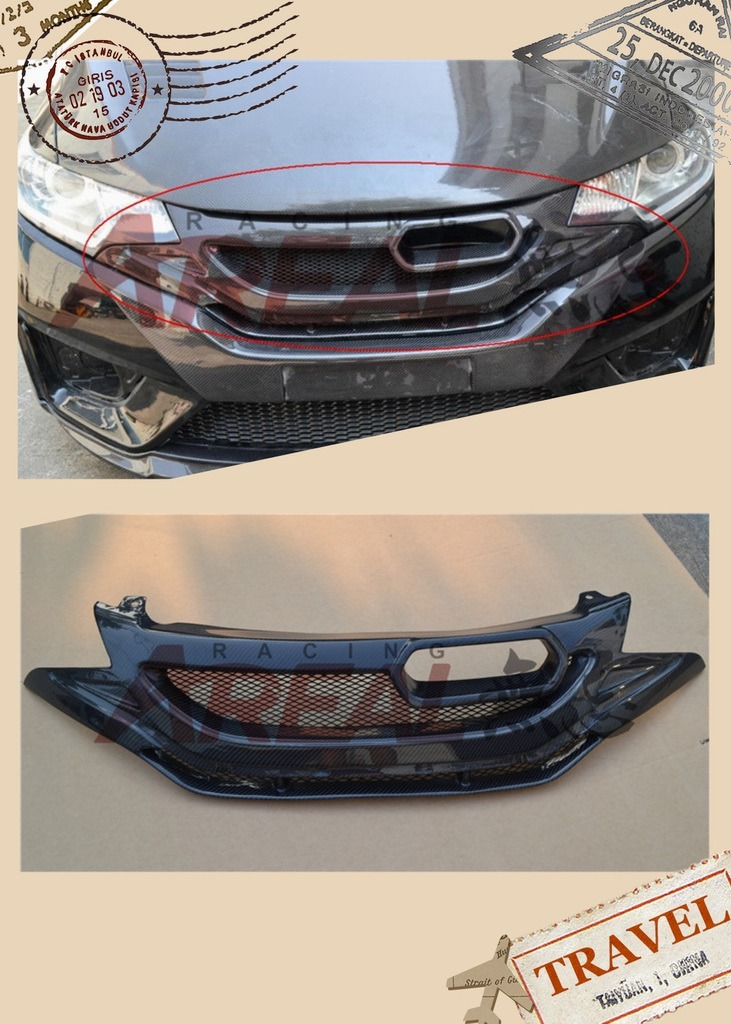 Js Grille for 2014 Honda Jazz Fit RS
