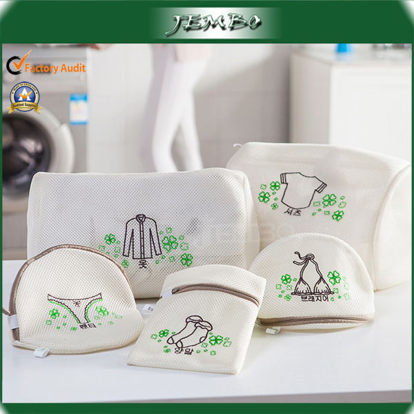 Fashion Newly Embroidery Logo Laundry Bag Set Price