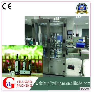 Ylg-Gz10025cyautomatic Oil Filling and Capping a Four-Piston Filling Machine