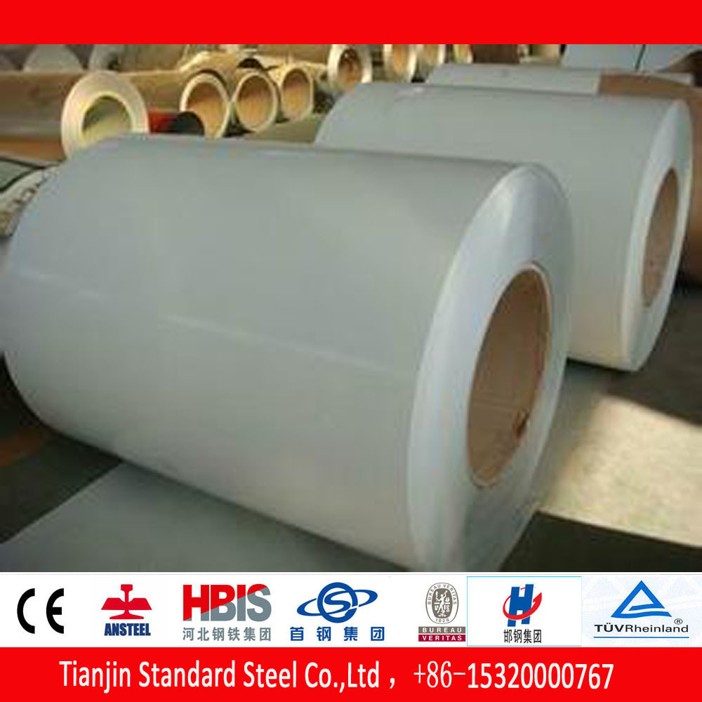 Hot Dipped Coated Steel PPGI Coils Ral 9002 Grey-White on Sale