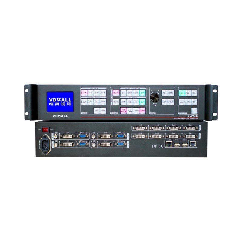 8601 LED Multi-Viewer Processor
