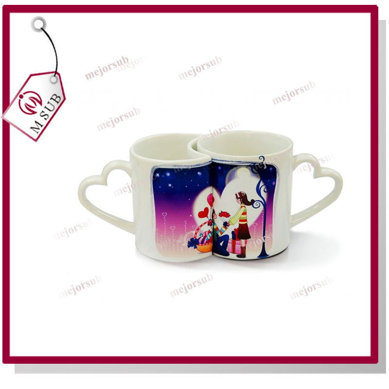 11oz Couple Mugs for Sublimation by Mejorsub
