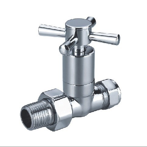 (HE-4004) Radiator Valve with Zinc, Aluminum or Plastic Handle for Water