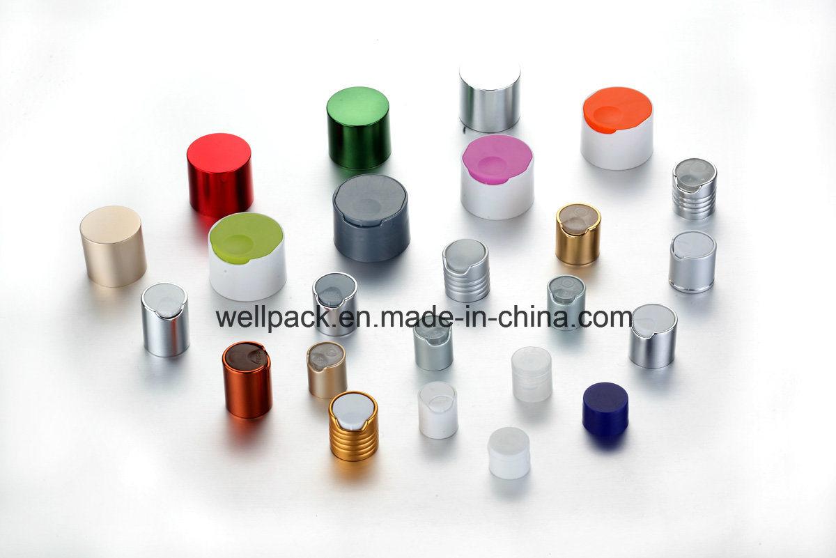 100ml Clear Pet Bottle with Plasic Flip Top Cap