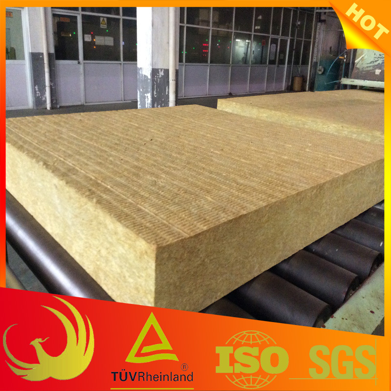 Heat Insulation Material Mineral Wool Sandwiched Panel