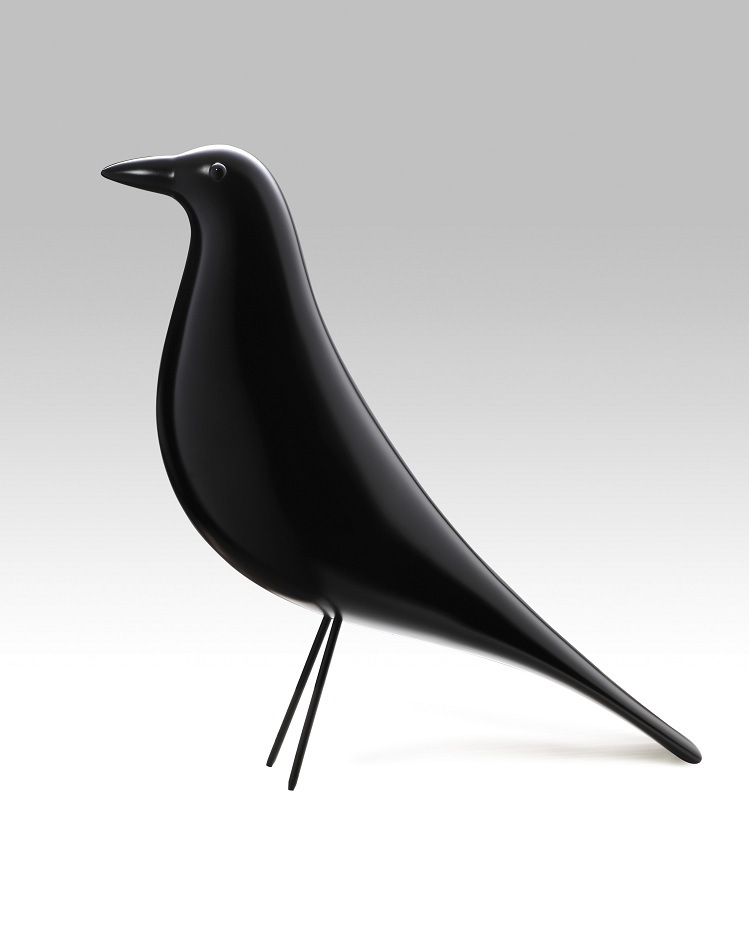 Black Whiteoriginal Quality Solid Wood Eames House Bird