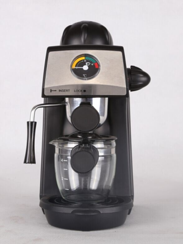 New Design 4 Cups Steam Espresso Coffee Maker