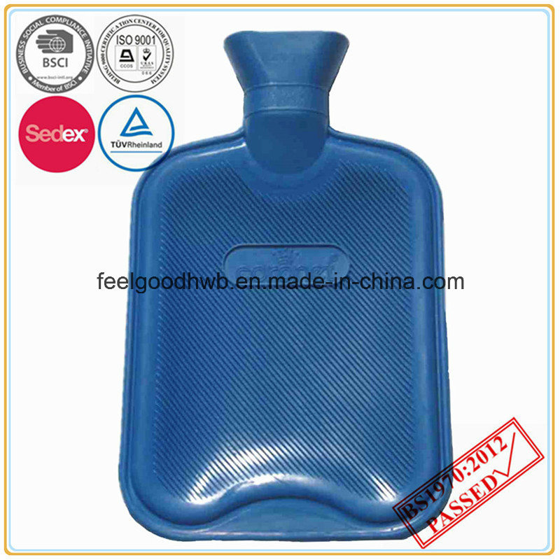 BS Standard Hot Water Bottle with Logo