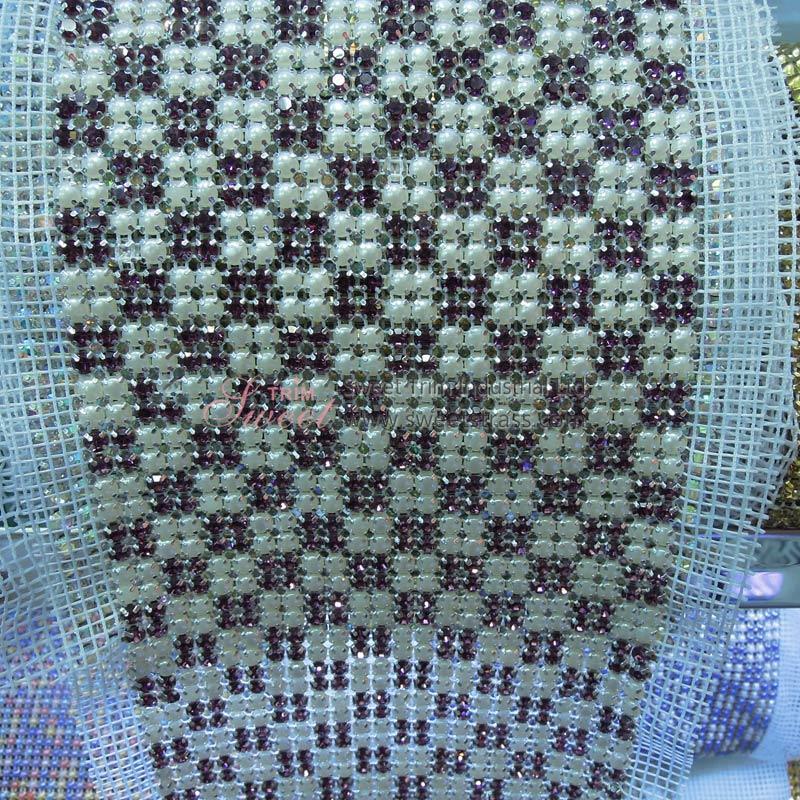 Wedding Decoration Trim 24 Row Mesh