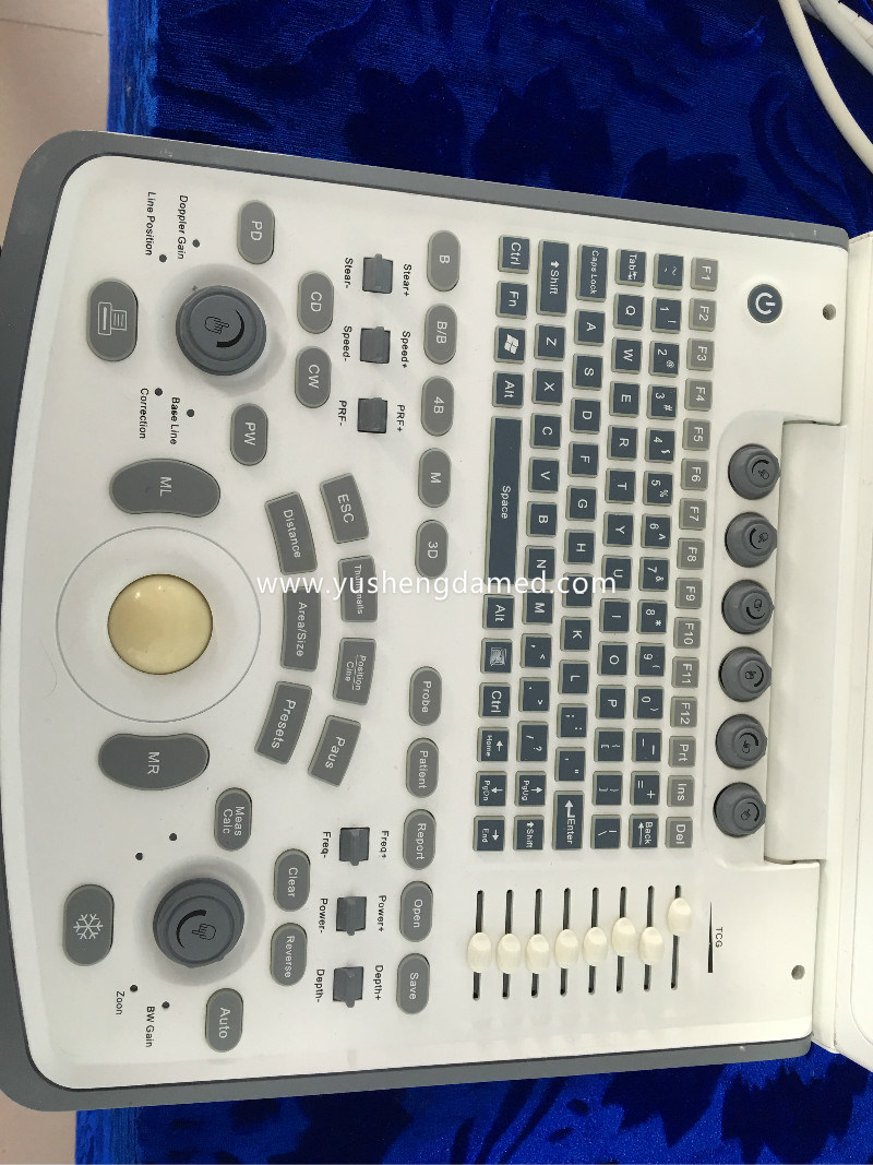 Ce Medical Abdominal Diagnosis Digital Portable Laptop Ultrasound Scanner Ysd4600