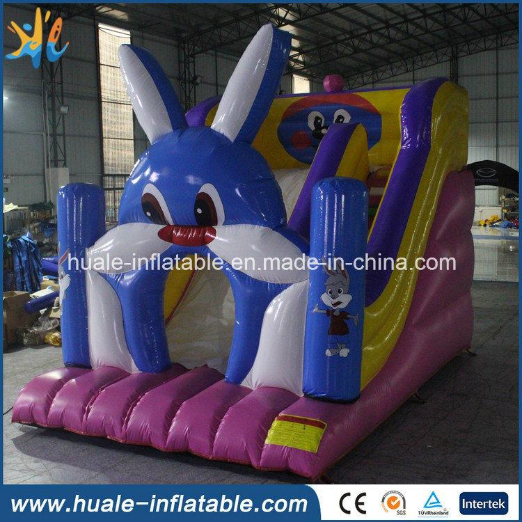 PVC Rabbit Inflatable Slide for Amusement Park Kids Toy Game
