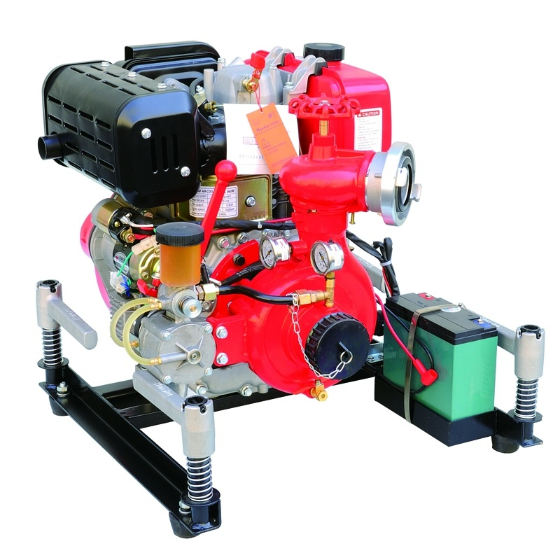Ce Certificated Diesel Engine Driven Fire Pump Bj-10b