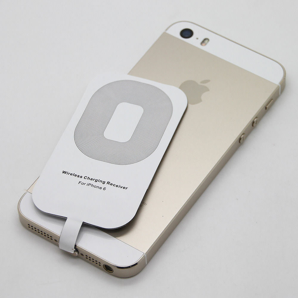 Qi Wireless Charger Receiver Card for Apple 6g