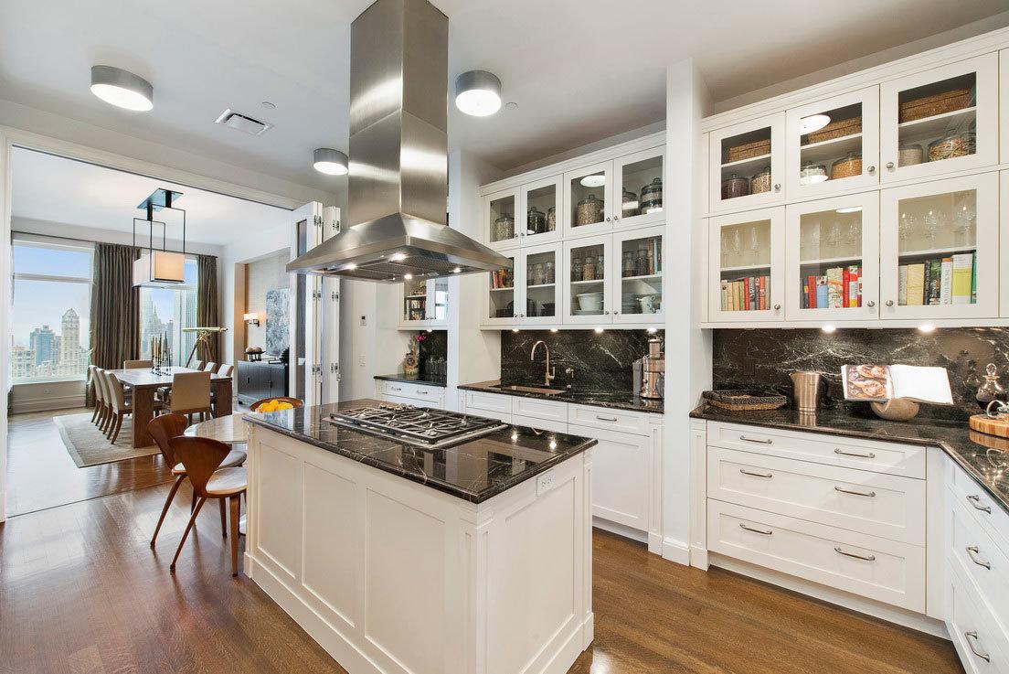 White Shaker Kitchen Furniture Solid Wood Kitchen Cabinet Yb-170488