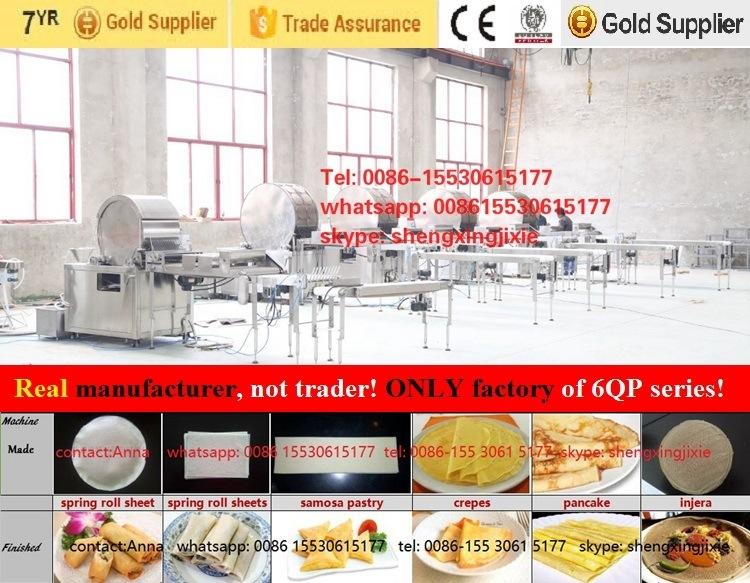 Auto High Quality/Capacity Pancake Machine/ Thin Pancake Machinery/ Flat Pancake Machine (manufacturer)