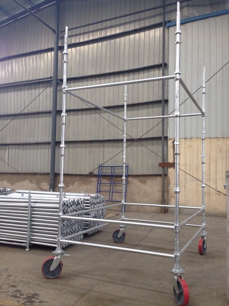 Cuplock System Scaffolding Manufactured From China