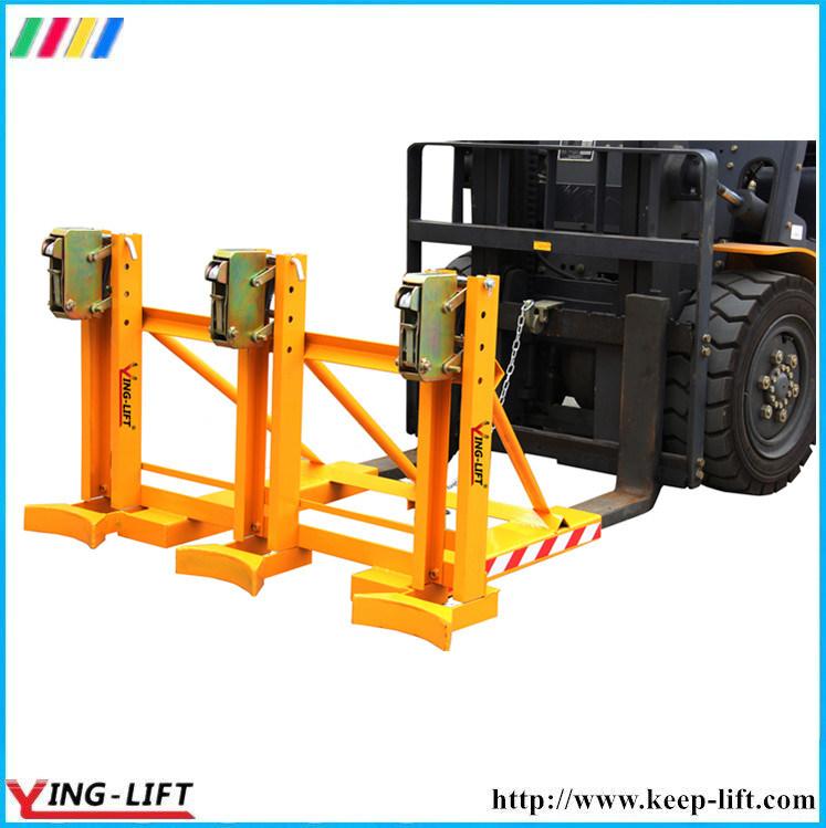 Mechanical Double Gator-Grip Forklift Drum Grab Dg720A