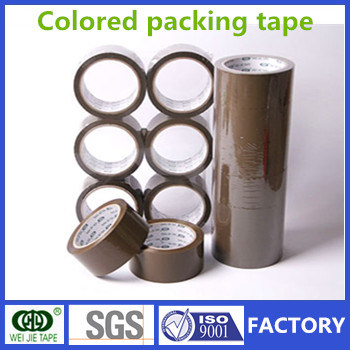 Weijie Brown OPP Adhesive Packaging Tape