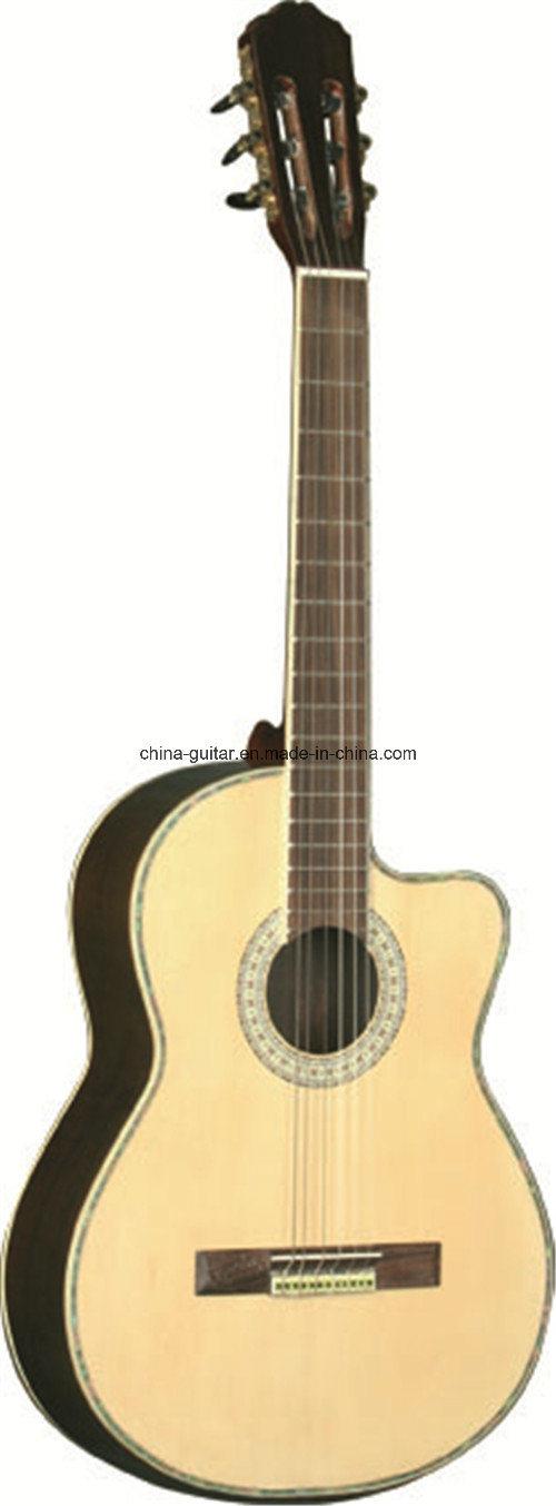 39′′ Rosewood Cutaway Classic Guitar