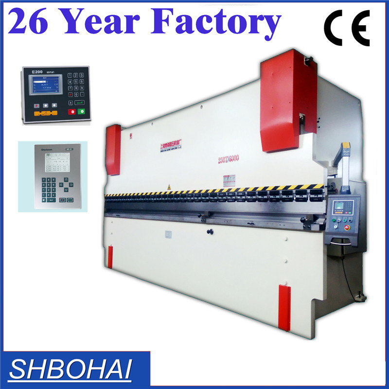 Metal Sheet Press Brake, Hydraulic Press Brake, Steel Plate Press Brake