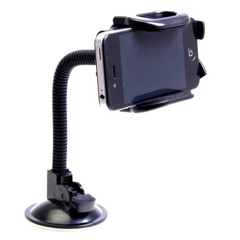 Universal Adjustable Goose Neck Car Mount Holder for Mobile Phone/iPhone/GPS